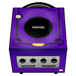 Gamecube purple-256