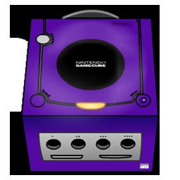 Gamecube purple