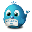 Twitter follow me Icon