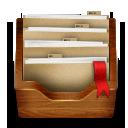 Wooden Folder