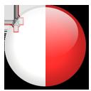 Malta Flag-128
