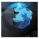Firefox Inverse-128