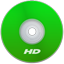 HD Green icon