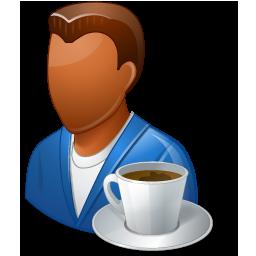 Person Coffeebreak Male Dark