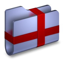 Package Blue Folder